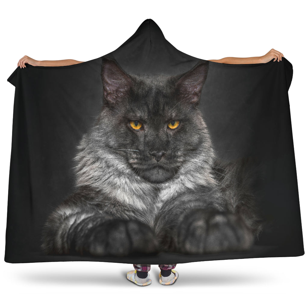 Hooded Blanket - Bad ass.