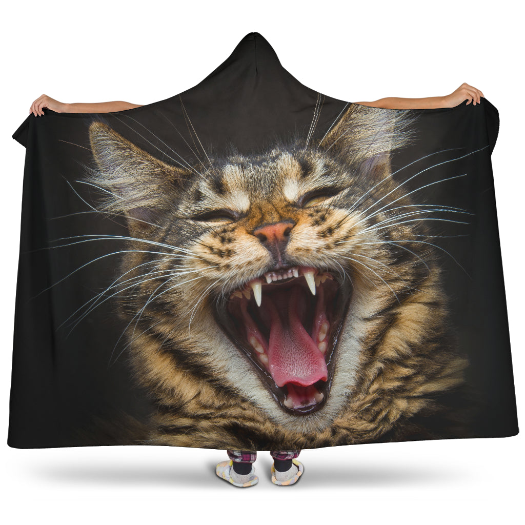 Hooded Blanket - Roaring