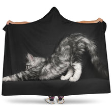 Load image into Gallery viewer, Hooded Blanket - Stretching 2