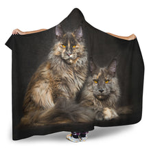 Load image into Gallery viewer, Hooded Blanket - Sisters