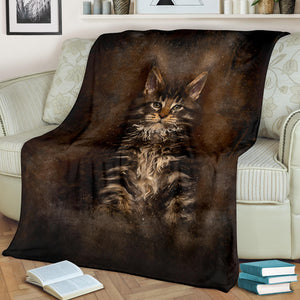 Premium Blanket Art - Little brown bear.