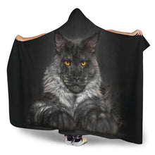 Load image into Gallery viewer, Hooded Blanket - Bad ass.