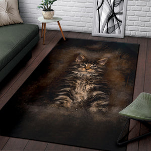 Area Rug - Brown Bear