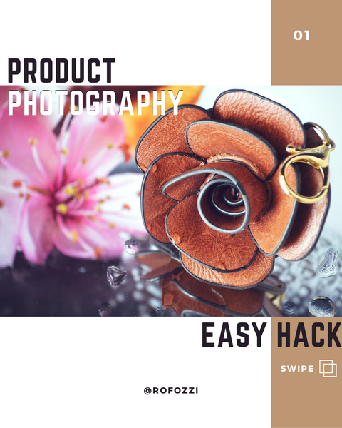 DIY Easy Hack for Great Product Photography