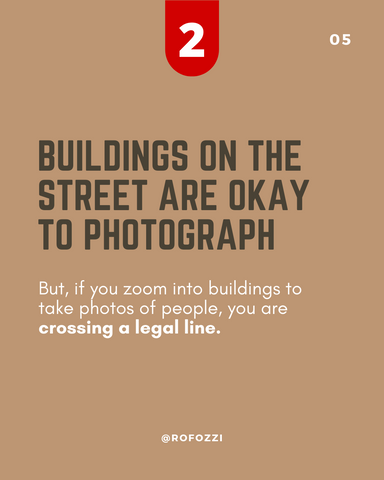 Is street photography legal? 5 Tips to avoid getting in trouble