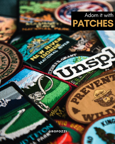 fabric patches for handbags