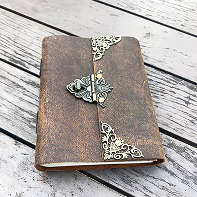 Rofozzi leather notebook diary gift for fathers day 2021