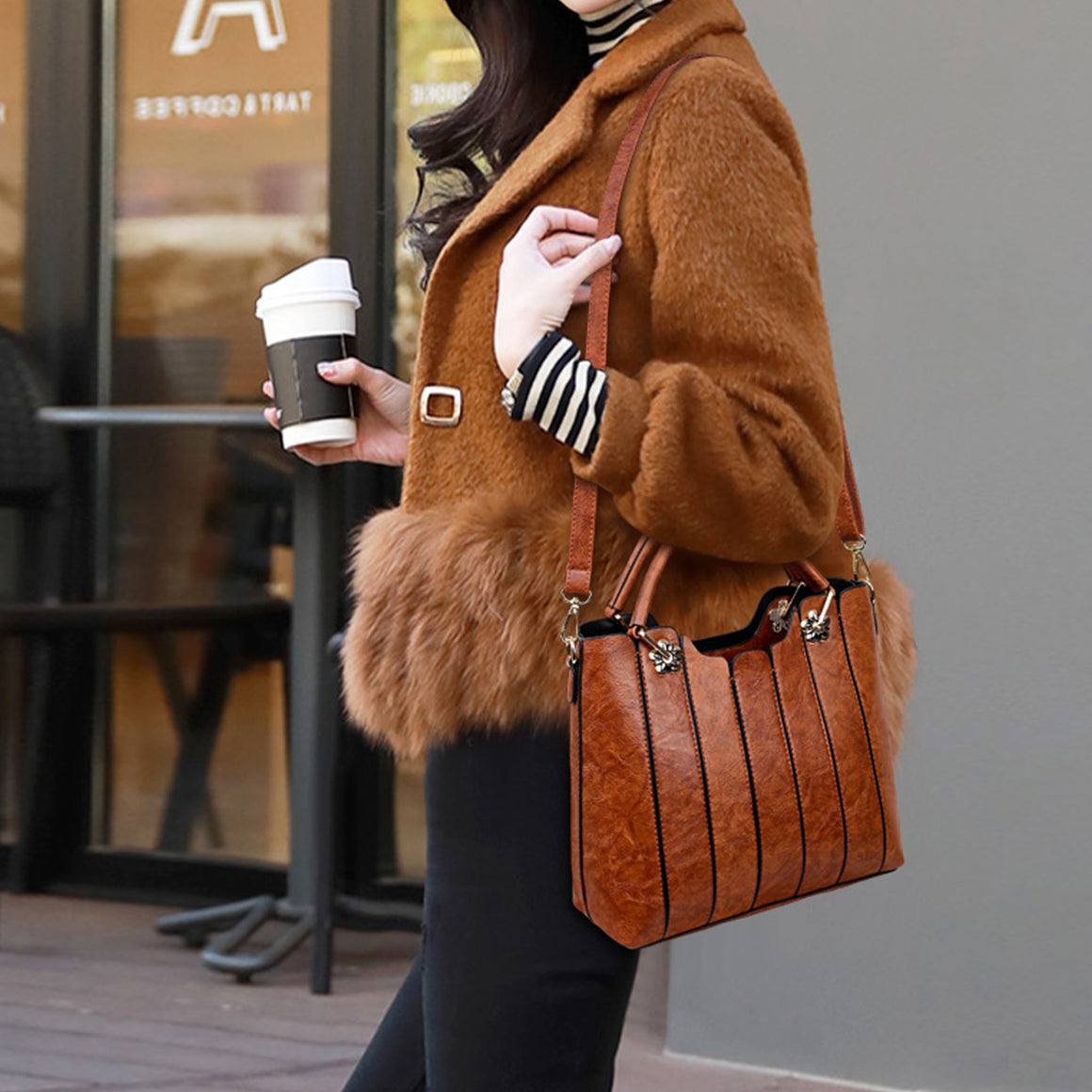 Brown Lane Handbag