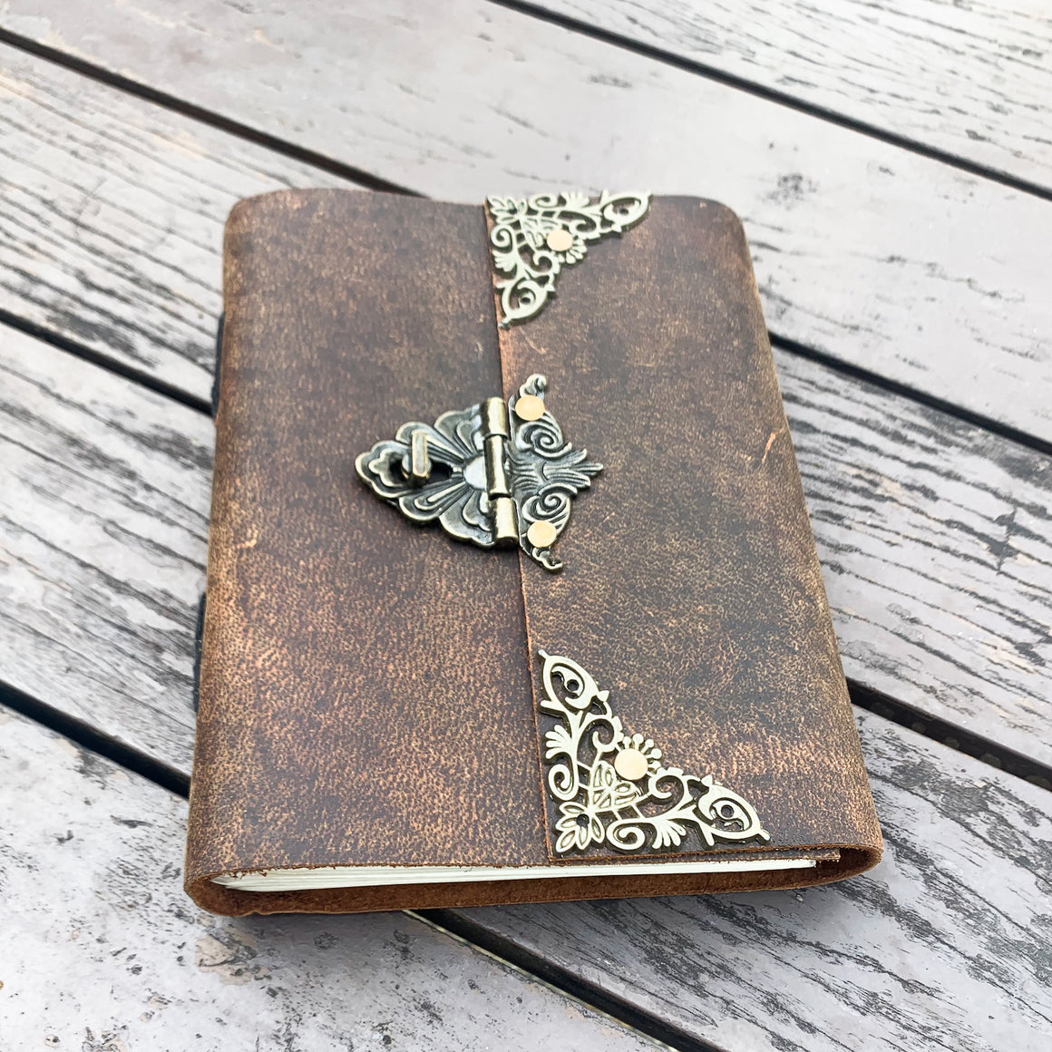 A5 Leather Journal with Latch