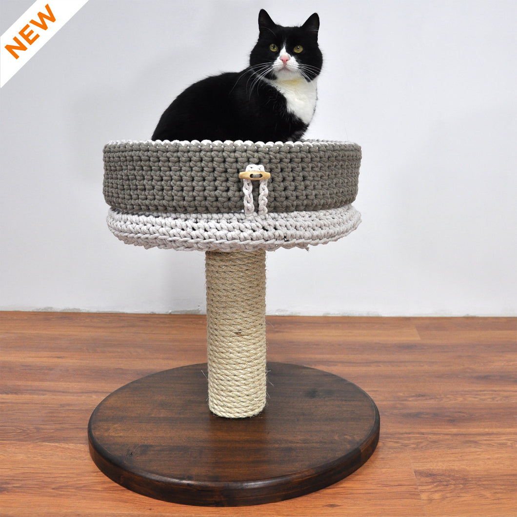 Cat Tree - Basic 1M. Small Modular Cat Tree