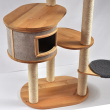 Load image into Gallery viewer, Giant 3-Tower 6-Seat Cat Tree