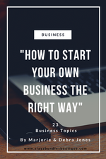 "E-Book(""How To Start Your Own Business The Right Way"""