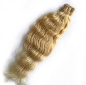 613 Blonde Glamorous Curly -Single Bundles
