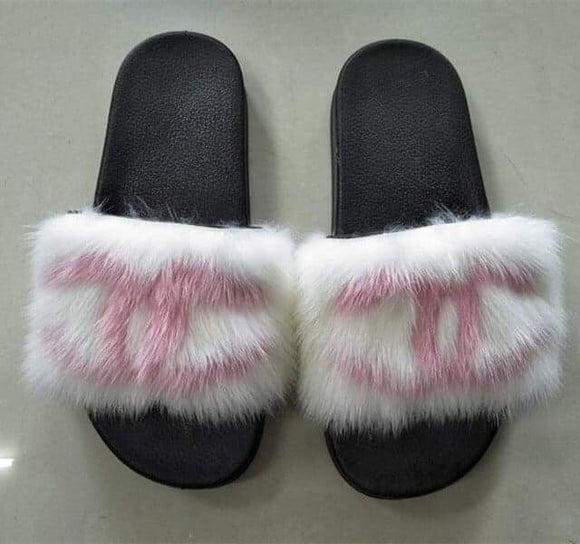 White/Pink CC Fur