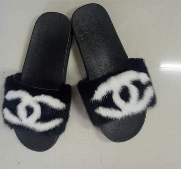 Black/White CC Fur