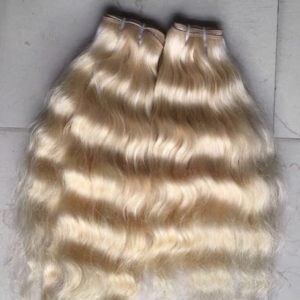 613 Blonde Gorgeous Wavy-Single Bundles