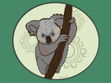 Load image into Gallery viewer, Gurburr (Koala) - Print