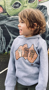 Power of Solidarity - Kids and Junior Hoodies