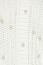"Load image into Gallery viewer, ""Pretty in Pearl"" Sweater Mini Dress - White"