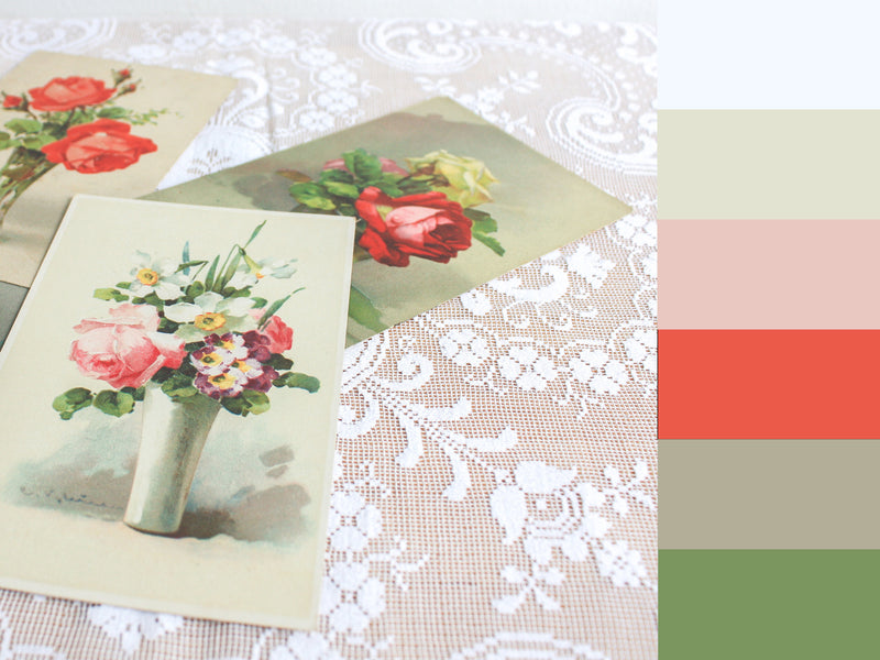 How To Find Your Own Unique Vintage Colour Palette!