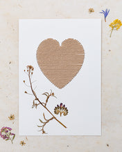 Load image into Gallery viewer, Dried Flower Embroidery Kit