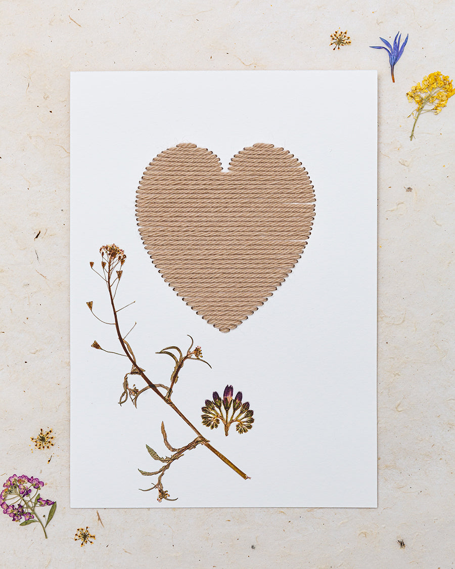 Dried Flower Embroidery Kit