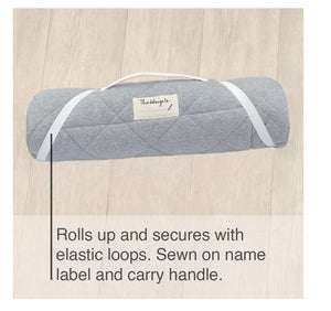 Childcare Nap Mat- Grey/Grey Stripe