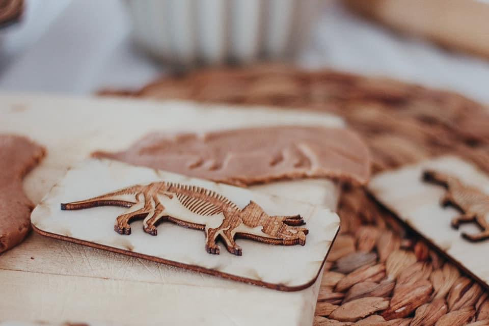 Dinosaur Fossil Stamps