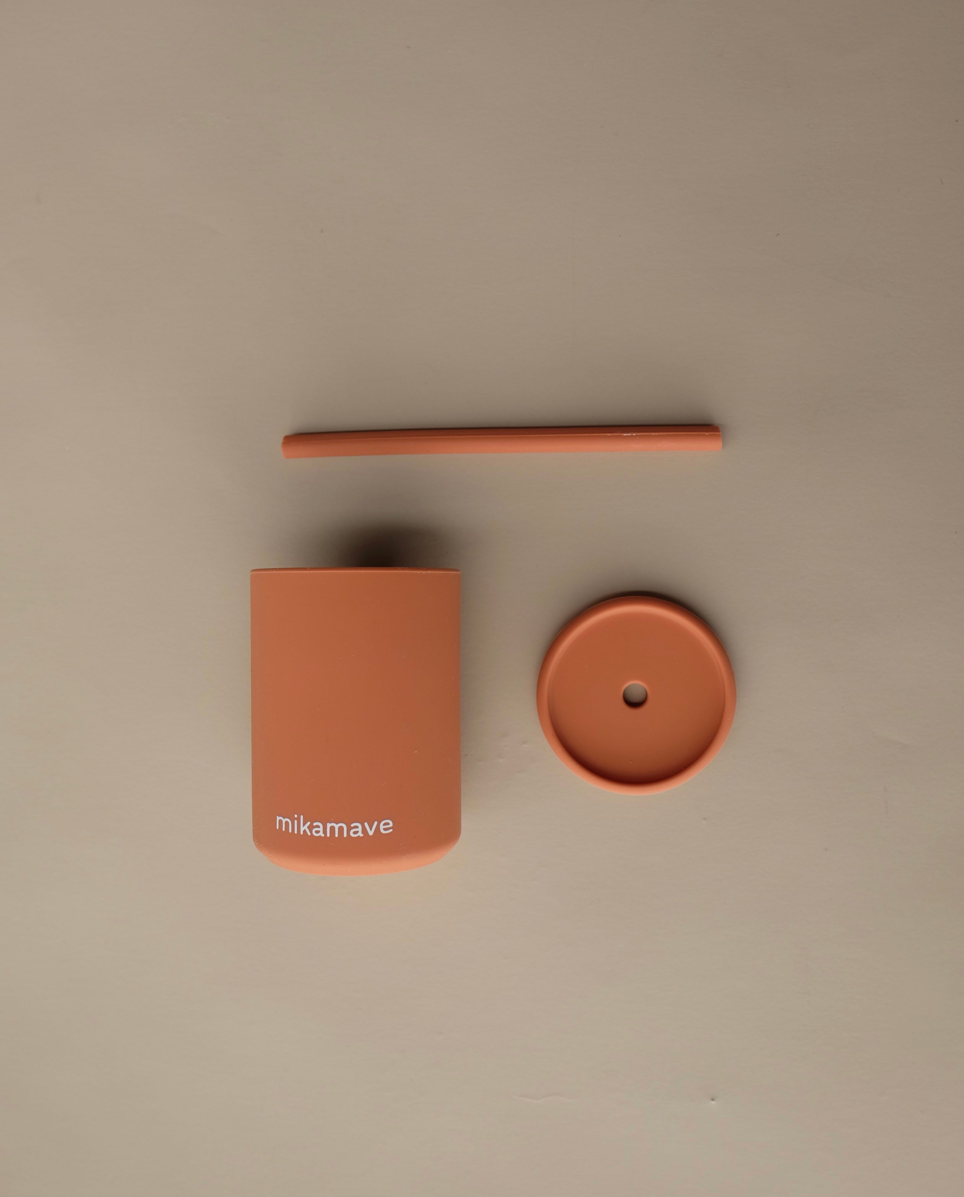 Terracotta- Silicone Cup Set