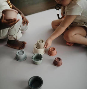 Earthy Stacking Cups