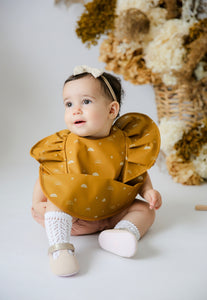 Sunrise Frill | Snuggle Bib Waterproof