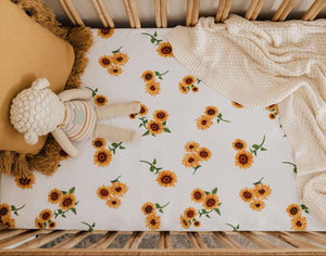 Sunflower | Fitted Cot Sheet