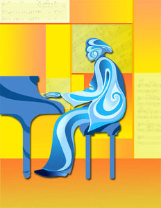 MBS publishing - Blues People Giclee Print