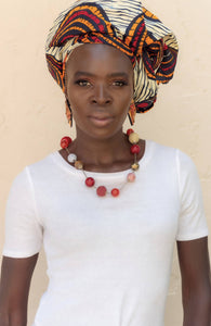 AFRIBERA AJOO CIRCLES HEADWRAP