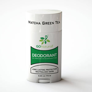 GO Natural Deodorant | Matcha Green Tea