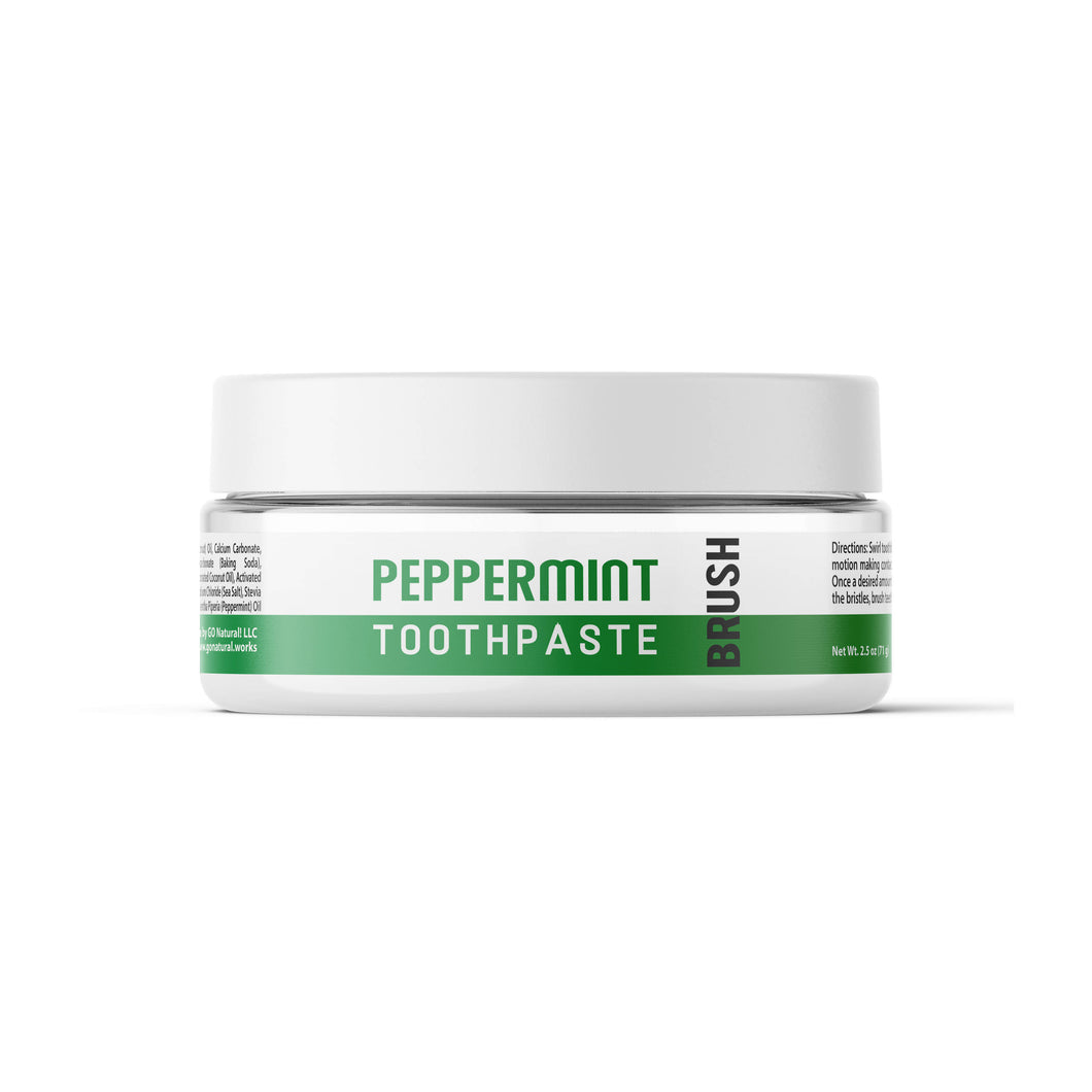 GO Natural Peppermint Toothpaste