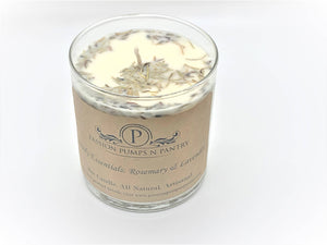 PassionPumpsnPantry Daily Essentials: Rosemary and Lavender Candle