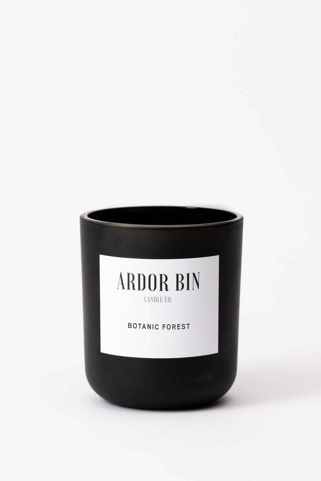 Ardor Bin Botanic Forest 12 oz. Wood Wick Scented Candle