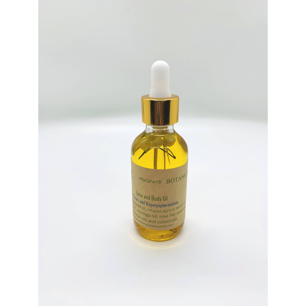 Passion Pumps N Pantry Botanicals Scars and Hyperpigmentation Oil