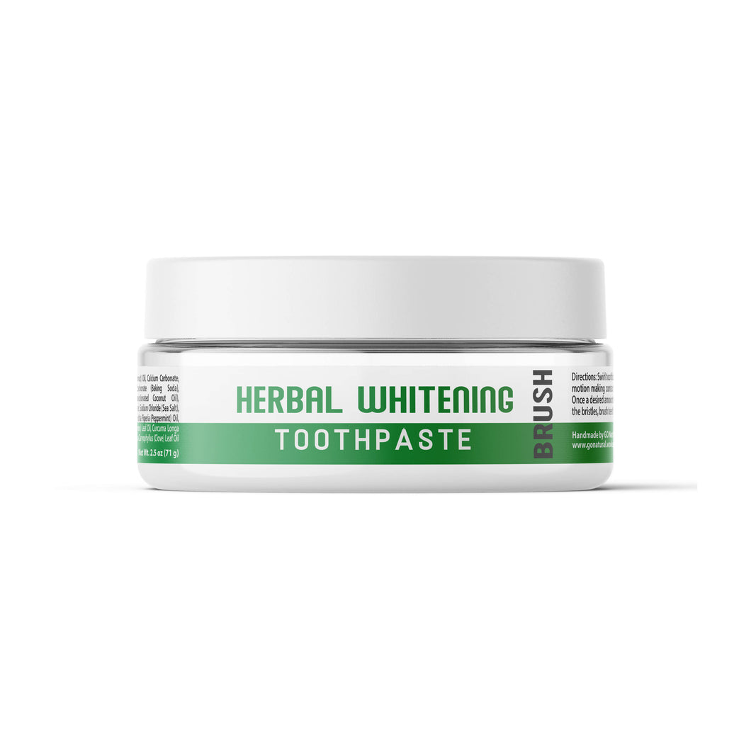 GO Natural Herbal Whitening Toothpaste