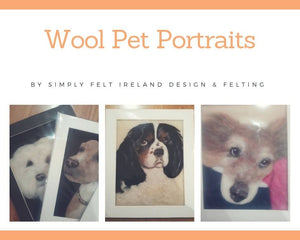 Wool Pet Portrait Gift voucher - The Biscuit Marketplace