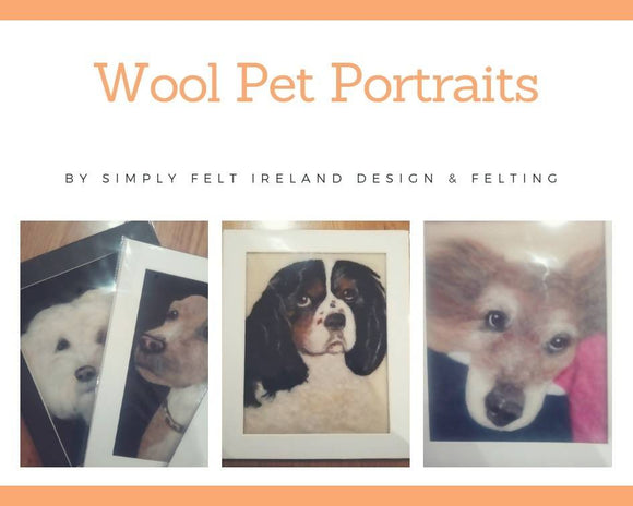 Wool Pet Portrait Gift voucher
