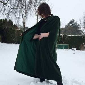 Vintage Green Cape - The Biscuit Marketplace