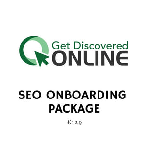 SEO ONBOARDING PACKAGE