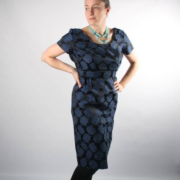 1950s/1960s Blue Black Suit - The Biscuit Marketplace