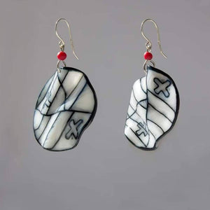 Fun Lightweight Earrings Contemporary Design - The Biscuit Marketplace