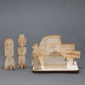 Flutter Wedding Car - The Biscuit Marketplace
