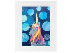 Luna Unicorn print - The Biscuit Marketplace