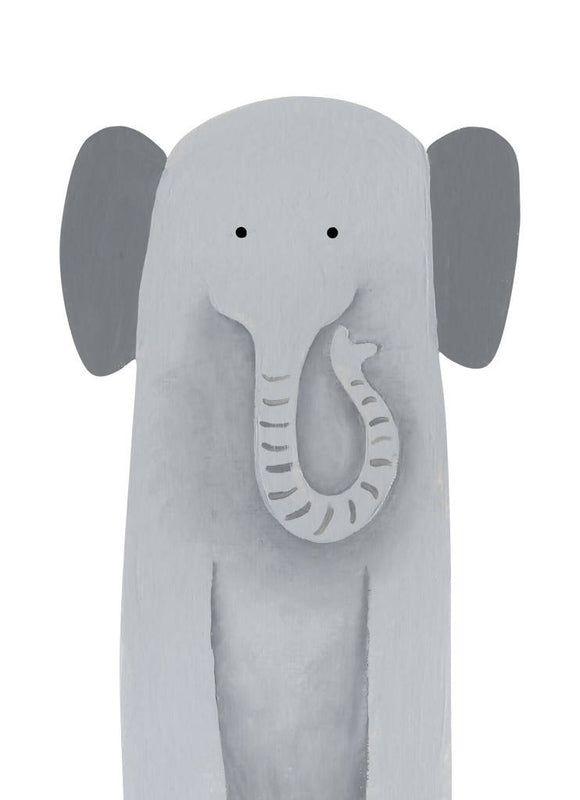 'Nellyphant' signed giclée print