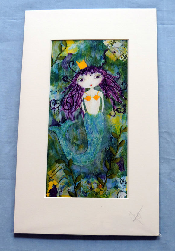 Polly Mermaid Print - The Biscuit Marketplace